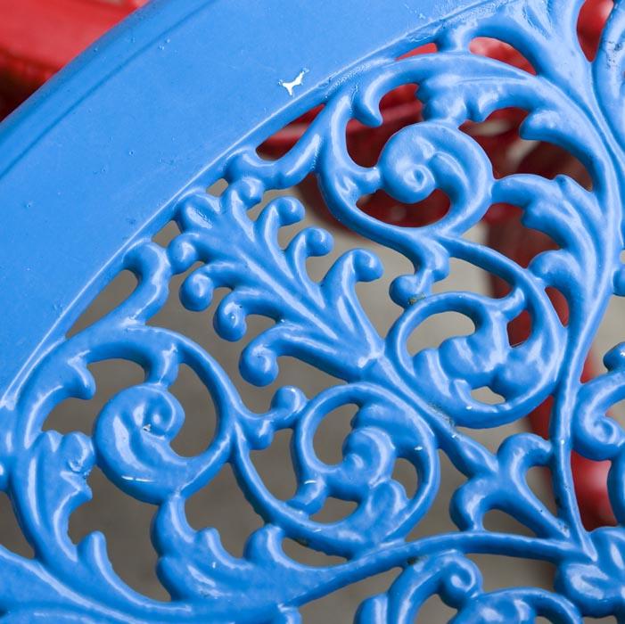 Cast Iron Table (detail), Nimbin, NSW, Australia