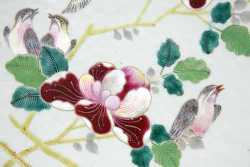 Gardenia and birds
